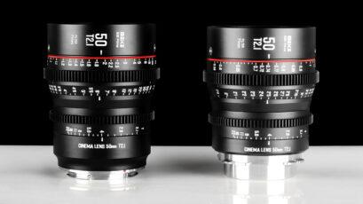 Meikeが50mm T2.1 S35mmシネプライムを発表 - EFとPLマウントに対応
