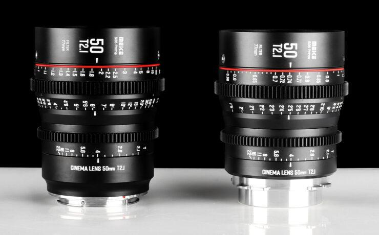 Meike 50mm T2.1 s35 Cine Prime Announced – for EF or PL Mount