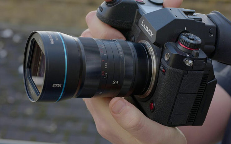 SIRUI 24mm Anamorphic Lens L and RF-Mount with MTF Services Conversion