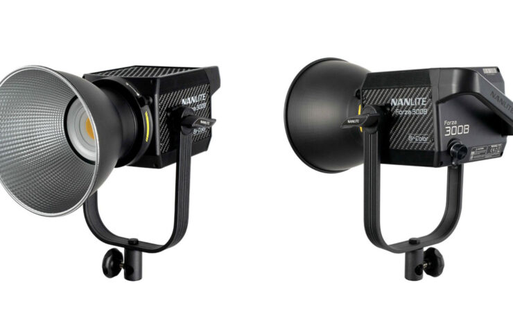 NANLITE Forza 300B Bi-Color LED Light Announced
