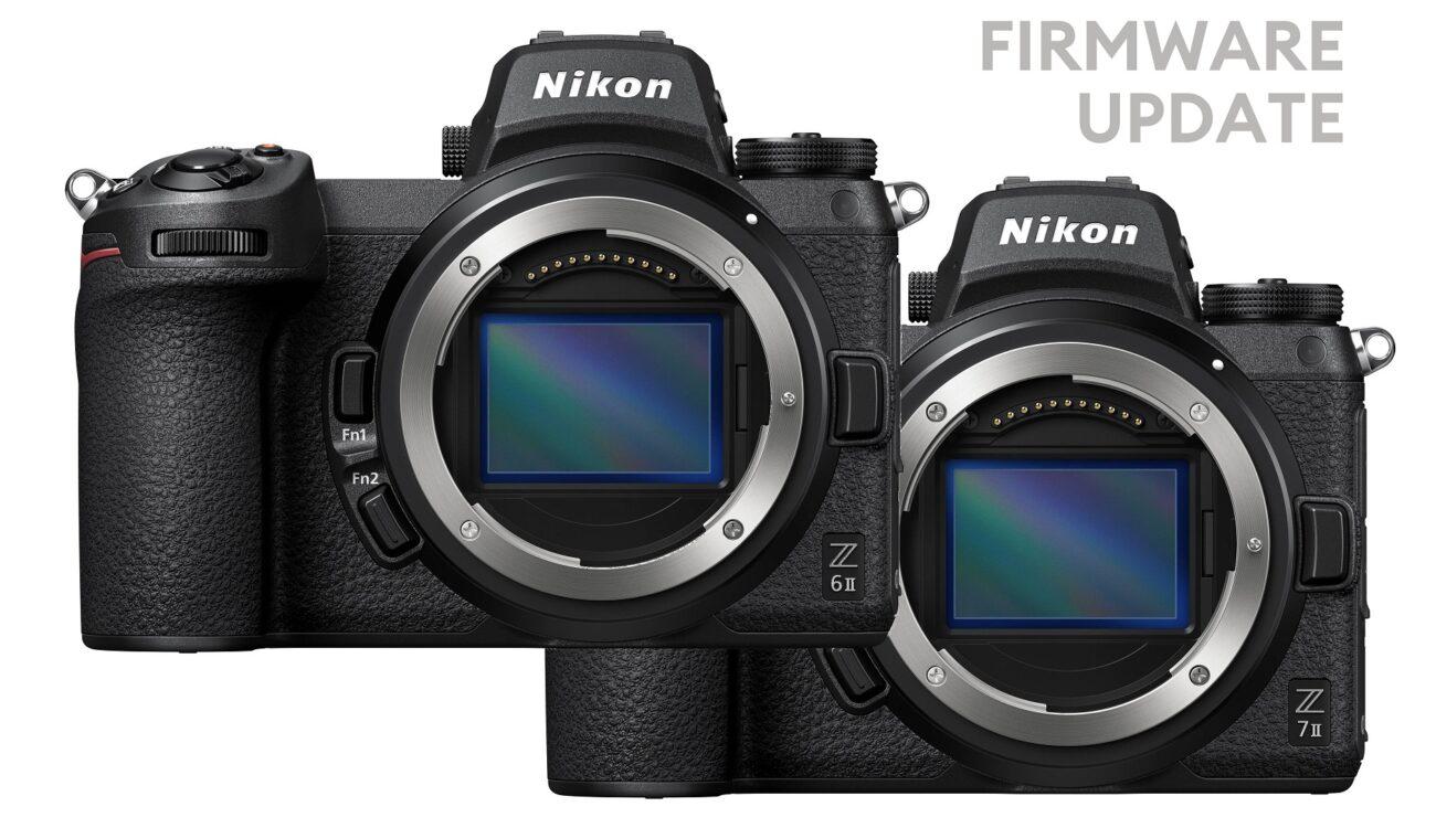 Próximamente lanzarán la versión de firmware 1.10 para las Nikon Z 6II y Z 7II - Amplía la salida RAW