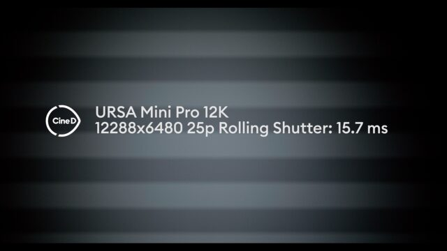Rolling Shutter at 12K
