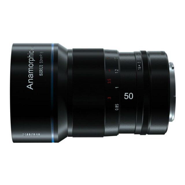 SIRUI 50mm f/1.8 Anamorphic 1.33x