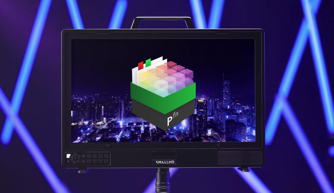 Monitores de producción de SmallHD 4K: Nuevo plugin Pomfort Livegrade