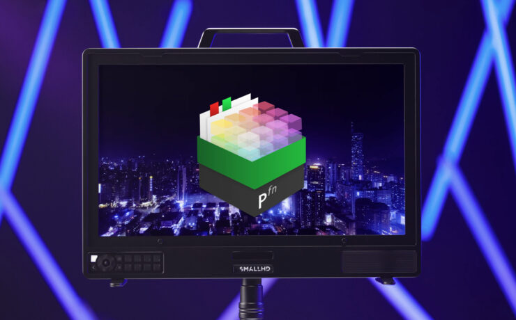 SmallHD 4K Production Monitors – New Pomfort Livegrade Plugin