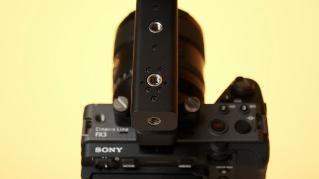 Sony FX3 Lots of attachment points