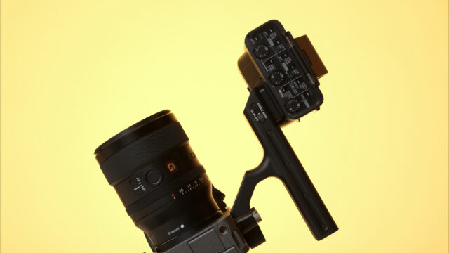 Sony FX3 with handle