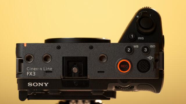 Sony FX3 Cinema Line