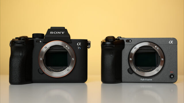 Sony FX3 vs Sony a7S III