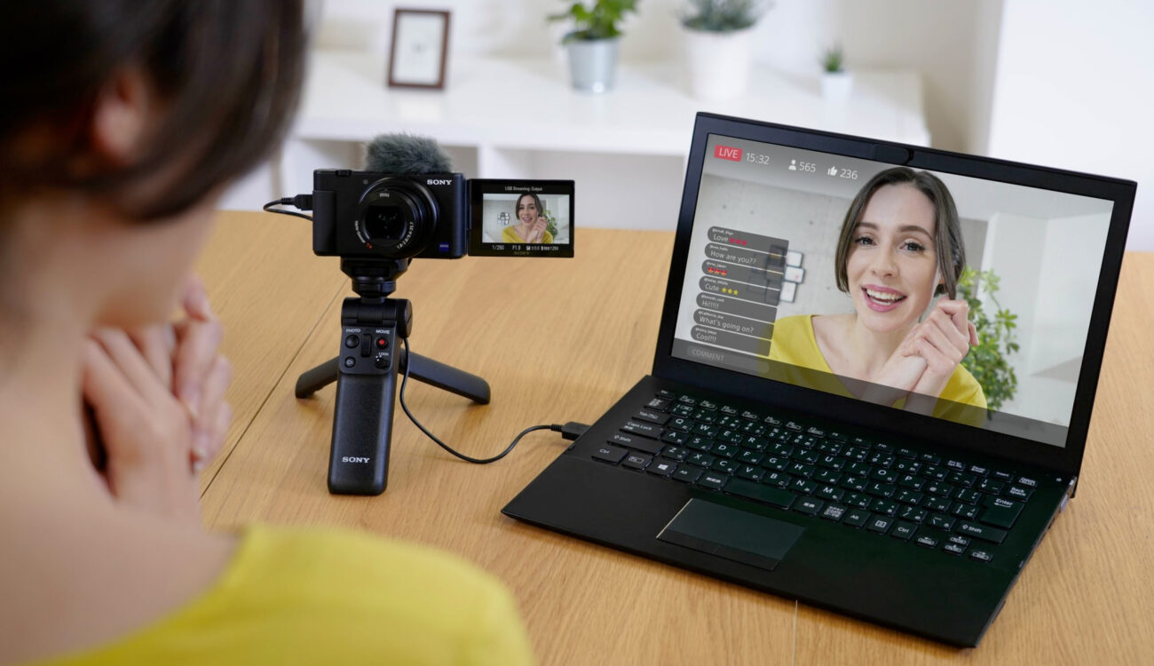 Sony ZV-1 Firmware Update Enables Video and Audio Livestreaming