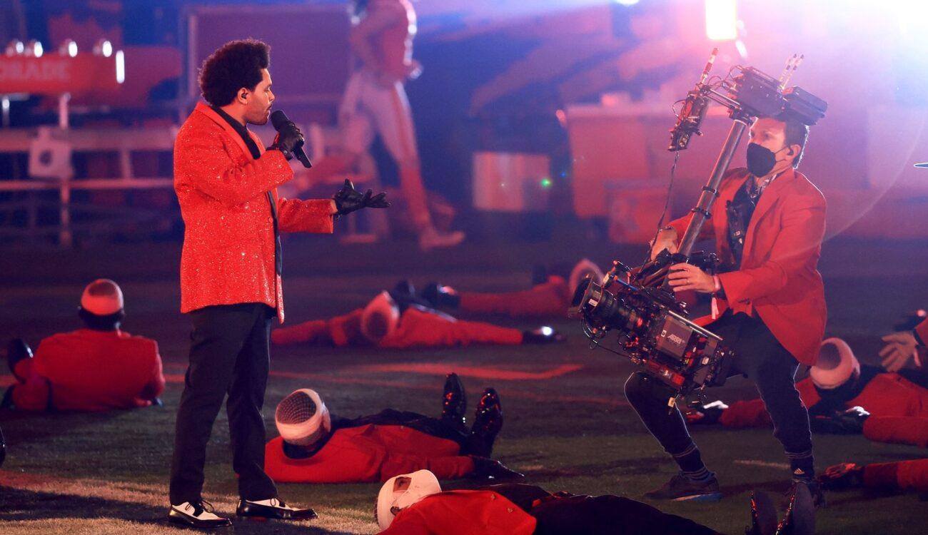 Espectáculo de medio tiempo de Pepsi con The Weeknd en el Super Bowl LV - En vivo con diez cámaras ARRI