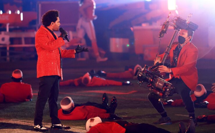The Weeknd Pepsi Super Bowl LV Halftime Show – Live with Ten ARRI Cameras