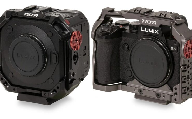 Tilta Cages for Panasonic LUMIX S5 and BGH1 Released