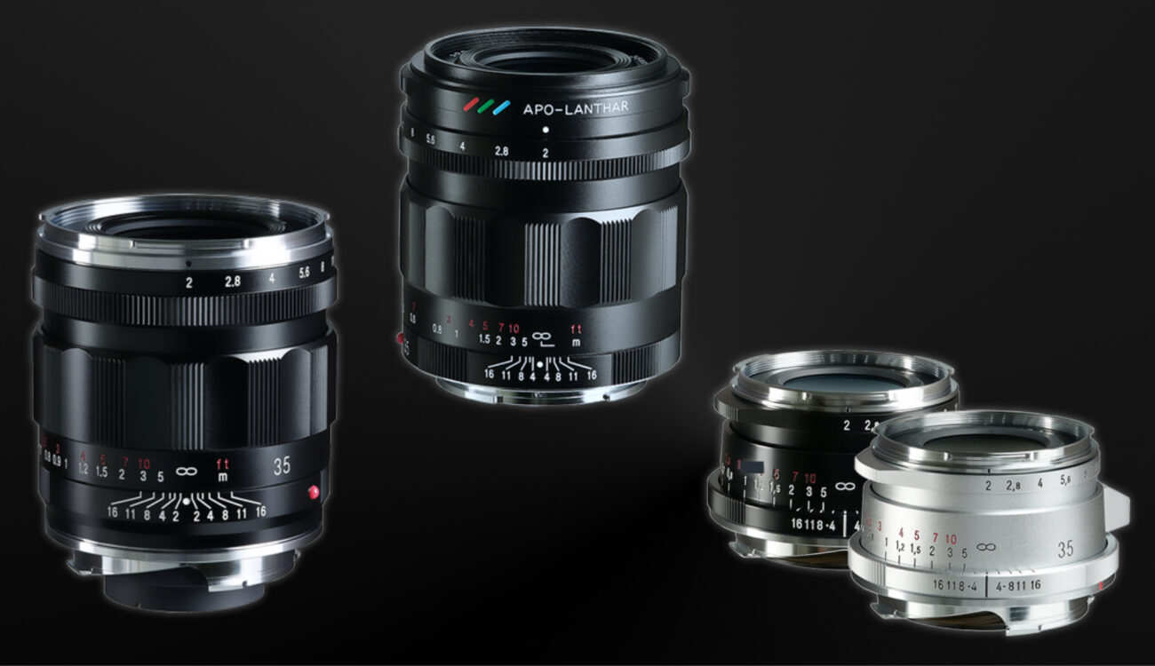 Voigtlander 35mm F2.0 APO-Lanthar & Ultron II Announced