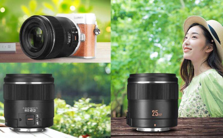 Yongnuo 25mm f/1.7 Micro Four Thirds Lens Announced