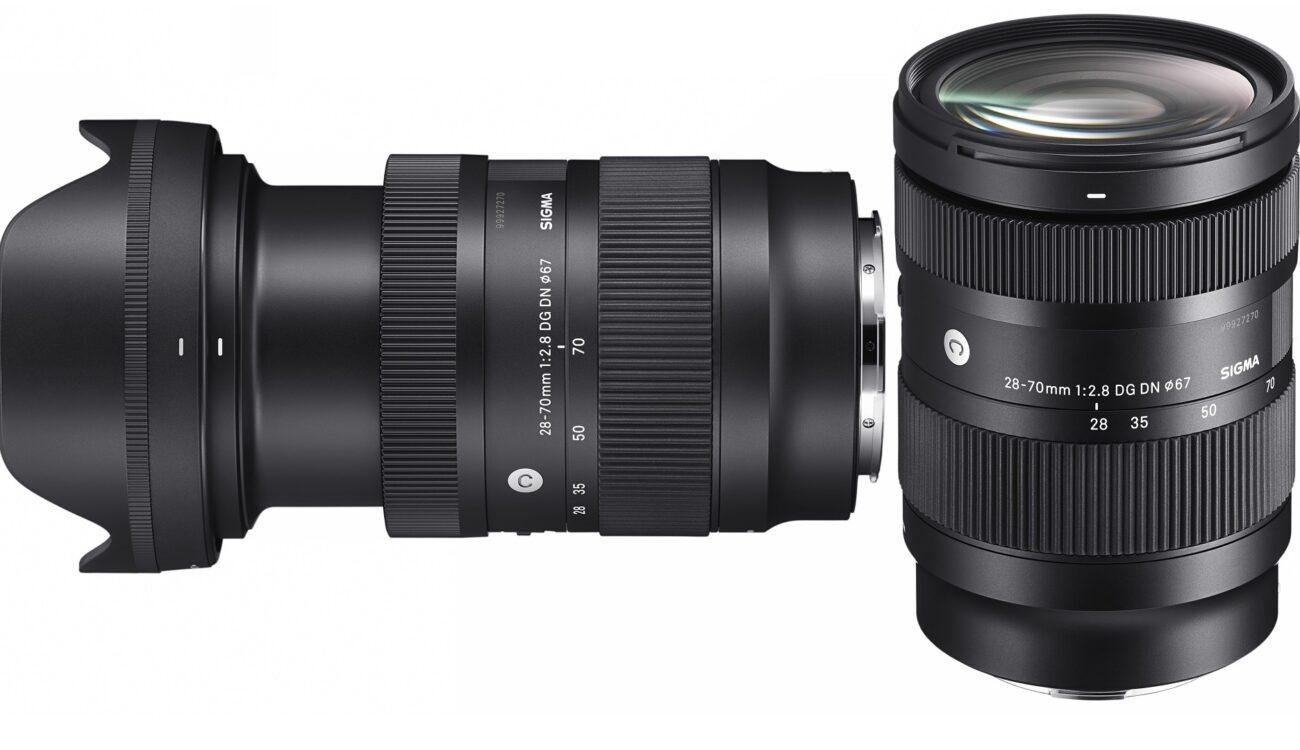 Anuncian el lente zoom SIGMA 28-70mm F2.8 DG DN Contemporary