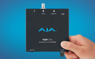 AJA T-TAP Pro Thunderbolt 3 – 4K HDMI 2.0 and 12G-SDI Output Box Released