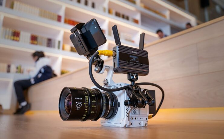 Accsoon CineEye 2S Extends Wireless Control for RED Komodo