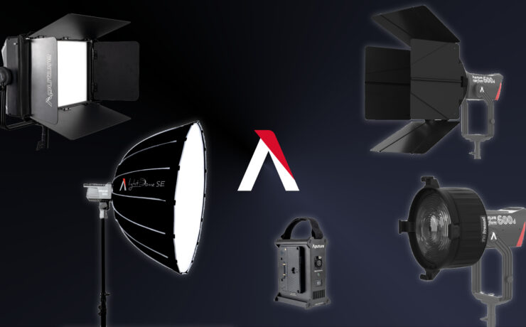 Aputure Releases Five New Lighting Accessories