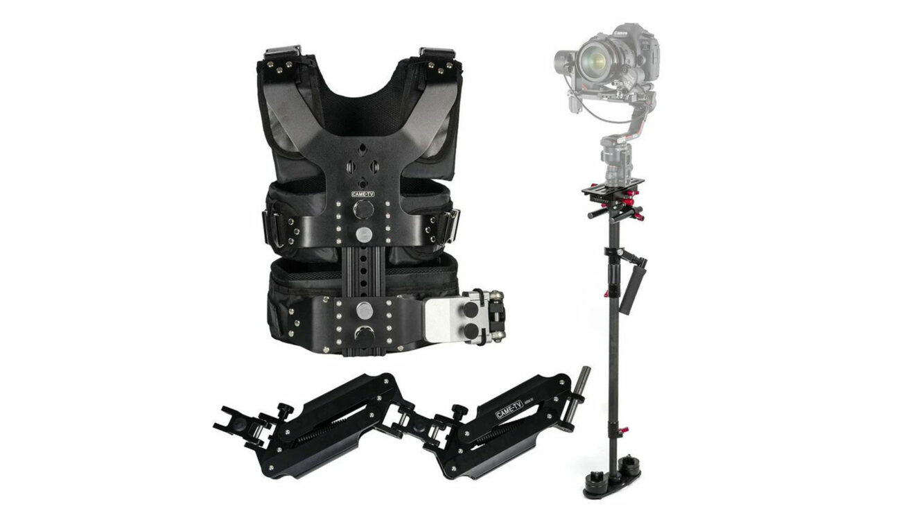 CAME-TV Pro Camera Video Stabilizer Kit for Gimbals Launched