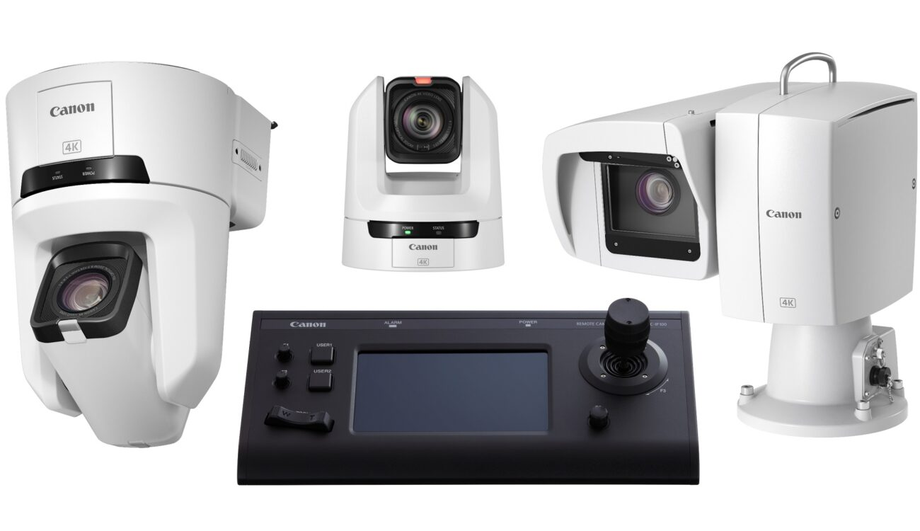 Three New Canon PTZ Remote Cameras and a Controller Released