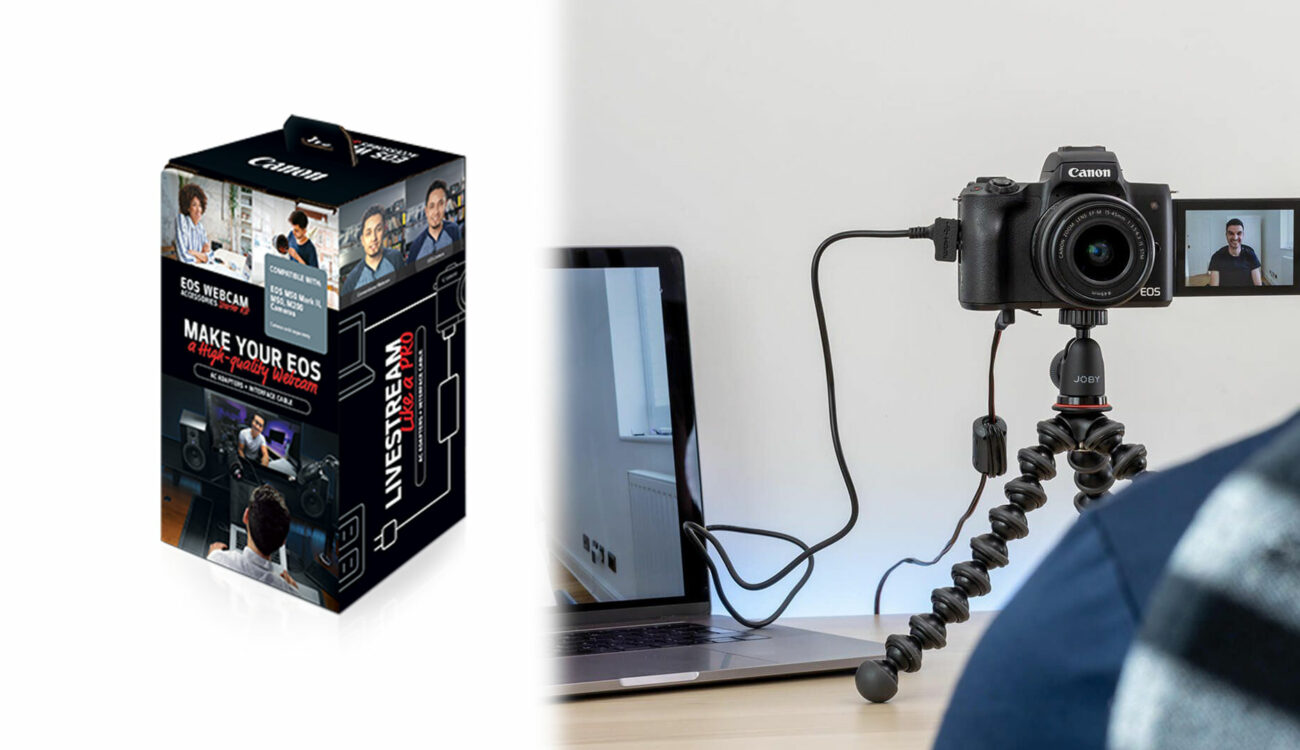 Canon EOS Webcam Accessories Starter Kits Released