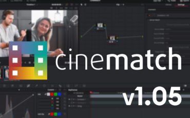 CineMatch V1.05 Update Released - LUT Export Added