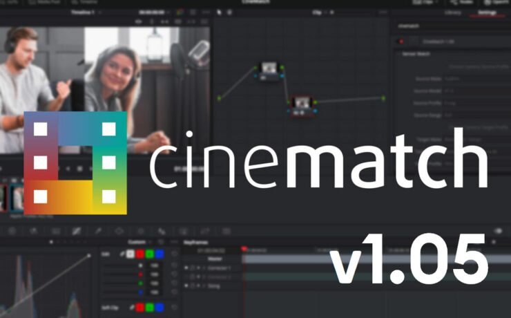 CineMatch V1.05 Update Released - LUT Export Added