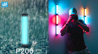 DigitalFoto P200 Rain-Proof RGB Tube LED Light Announced