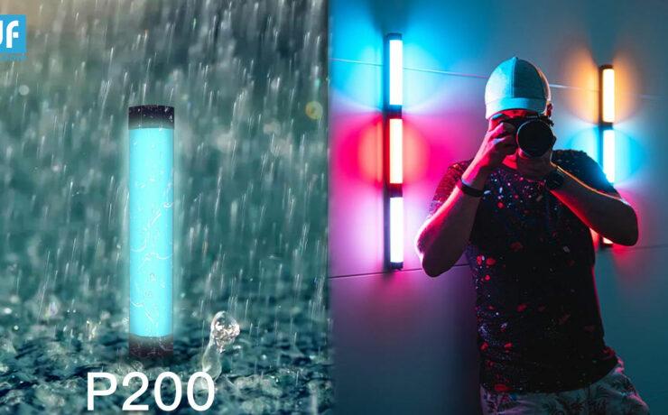 DigitalFoto P200 Rain-Proof RGB Tube LED Light Announced