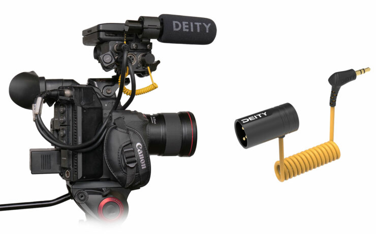 Deity V-Link XLR to 3.5mm TRS Cable Announced