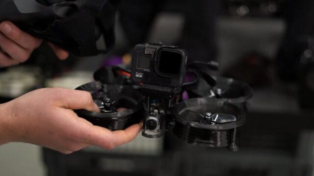 cinewhoop drone