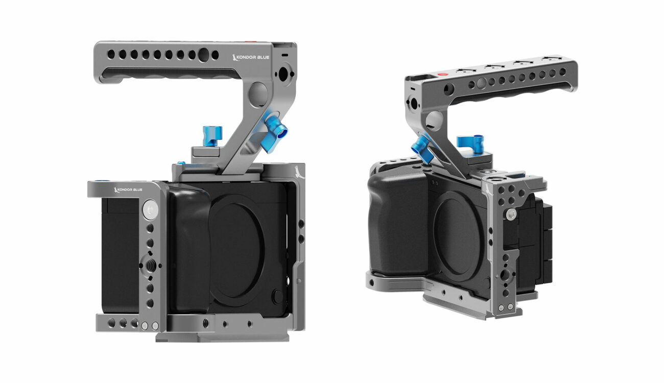 Kondor Blue Sony FX3 Cage Announced