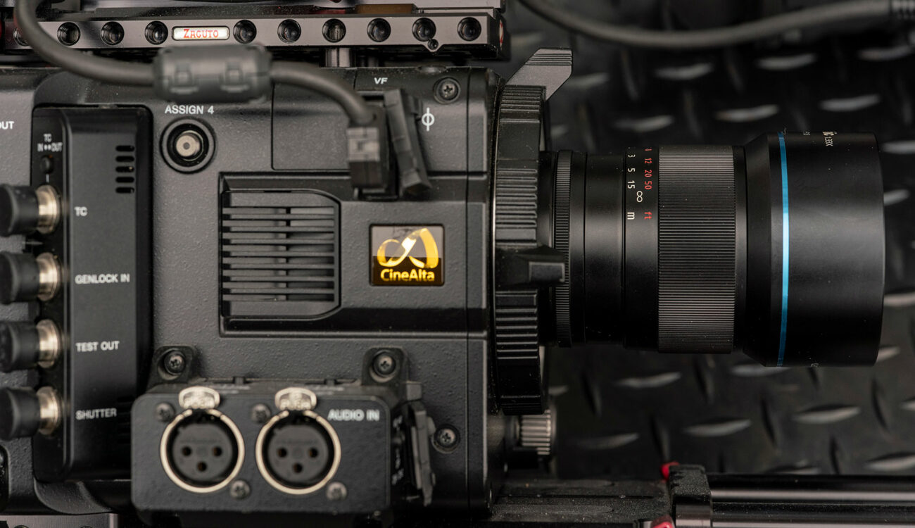 Sirui Anamorphic Lenses for Sony FZ Mount Converted by MTF Services