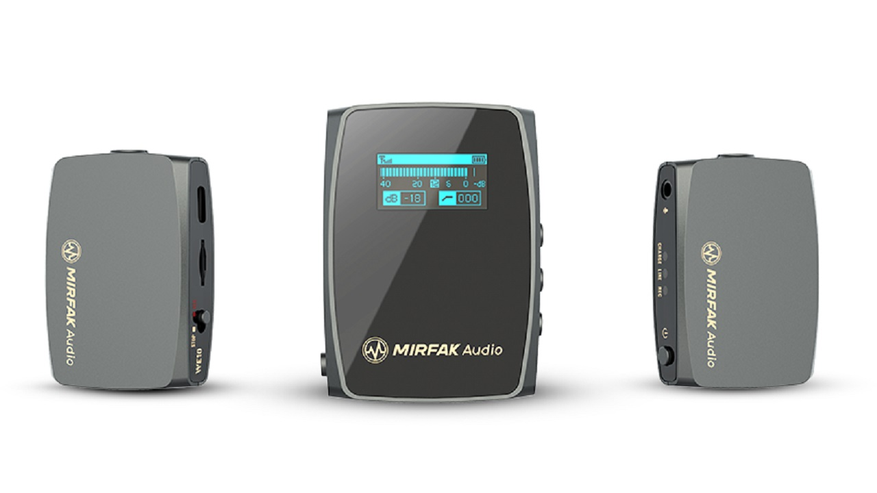 MIRFAK Audio WE10 Compact Dual-Channel Wireless Audio System now Shipping
