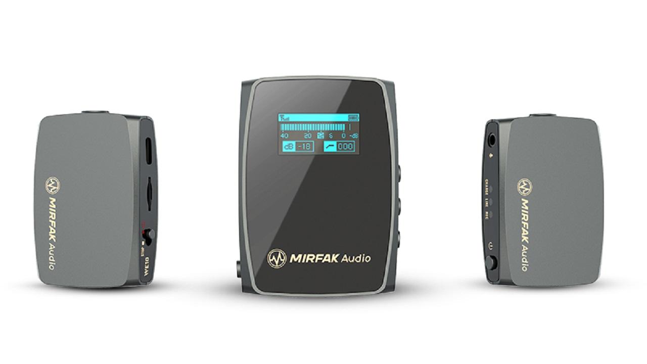 Ya está disponible el MIRFAK Audio WE10 - Sistema de audio inalámbrico compacto de doble canal