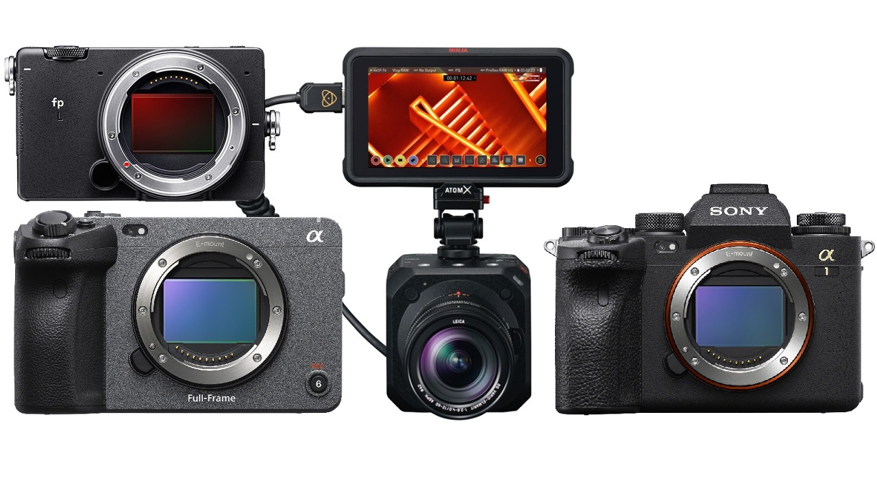 Atomos Ninja V Gets ProRes RAW Support for Panasonic BGH1, Sony Alpha 1, FX3, and SIGMA fp L