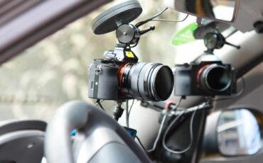 Anuncian el RigWheels Mag-Tight Curve: Montura de cámara para automóvil con función de limpiaparabrisas