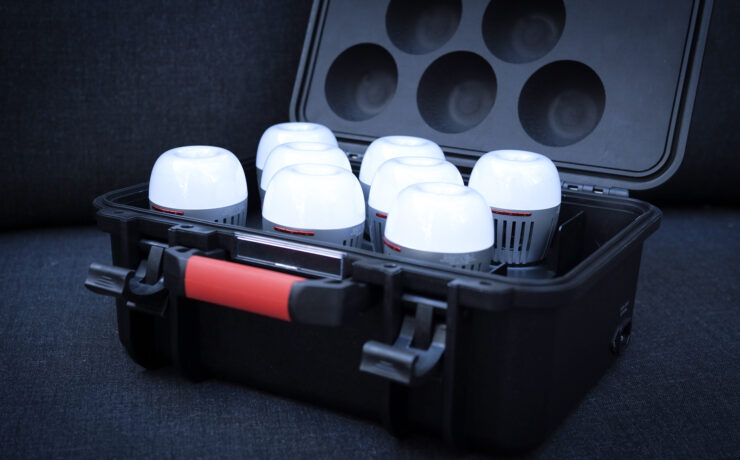 Aputure B7c 8-Bulb Kit – Hands On Review