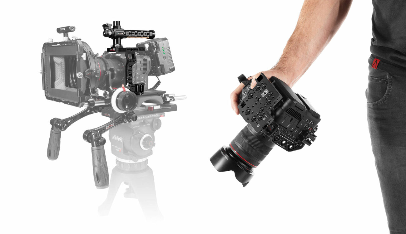 SHAPE Canon EOS C70 Cage and Accessories Released