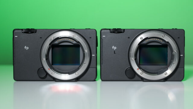 the SIGMA fp next to the fp L.