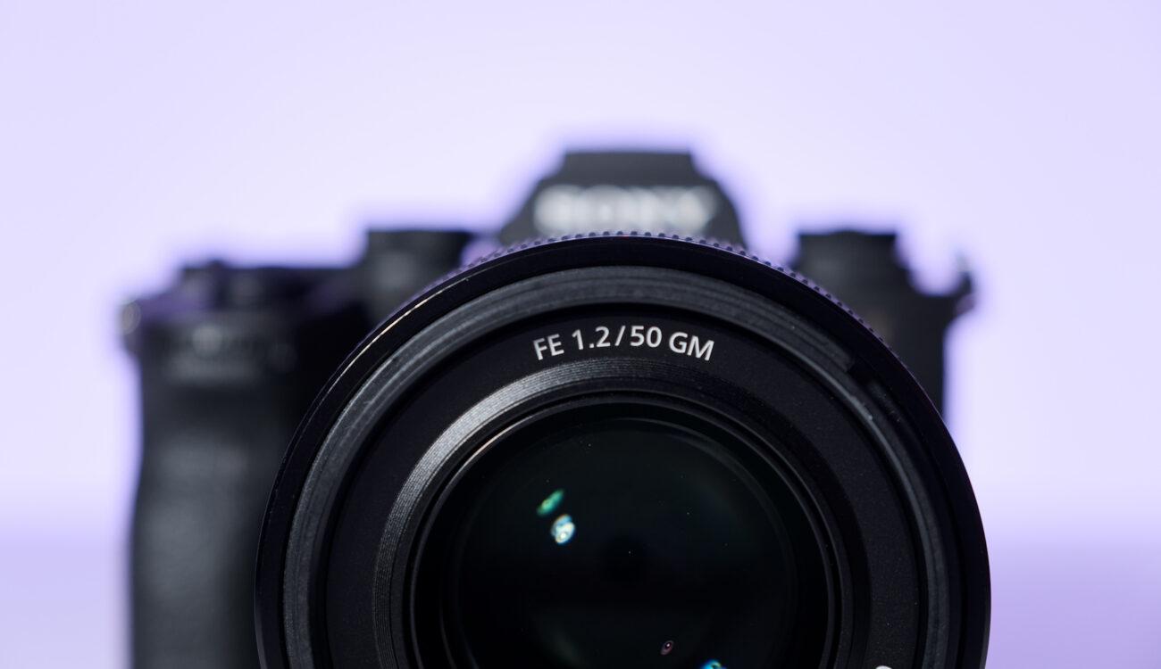 Anuncian el lente Sony FE 50mm F/1.2 GM