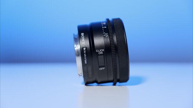 Sony 50mm prime lens