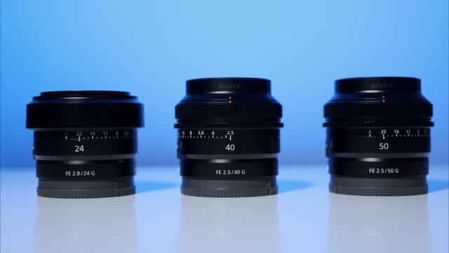 Sony 24mm F2.5 G