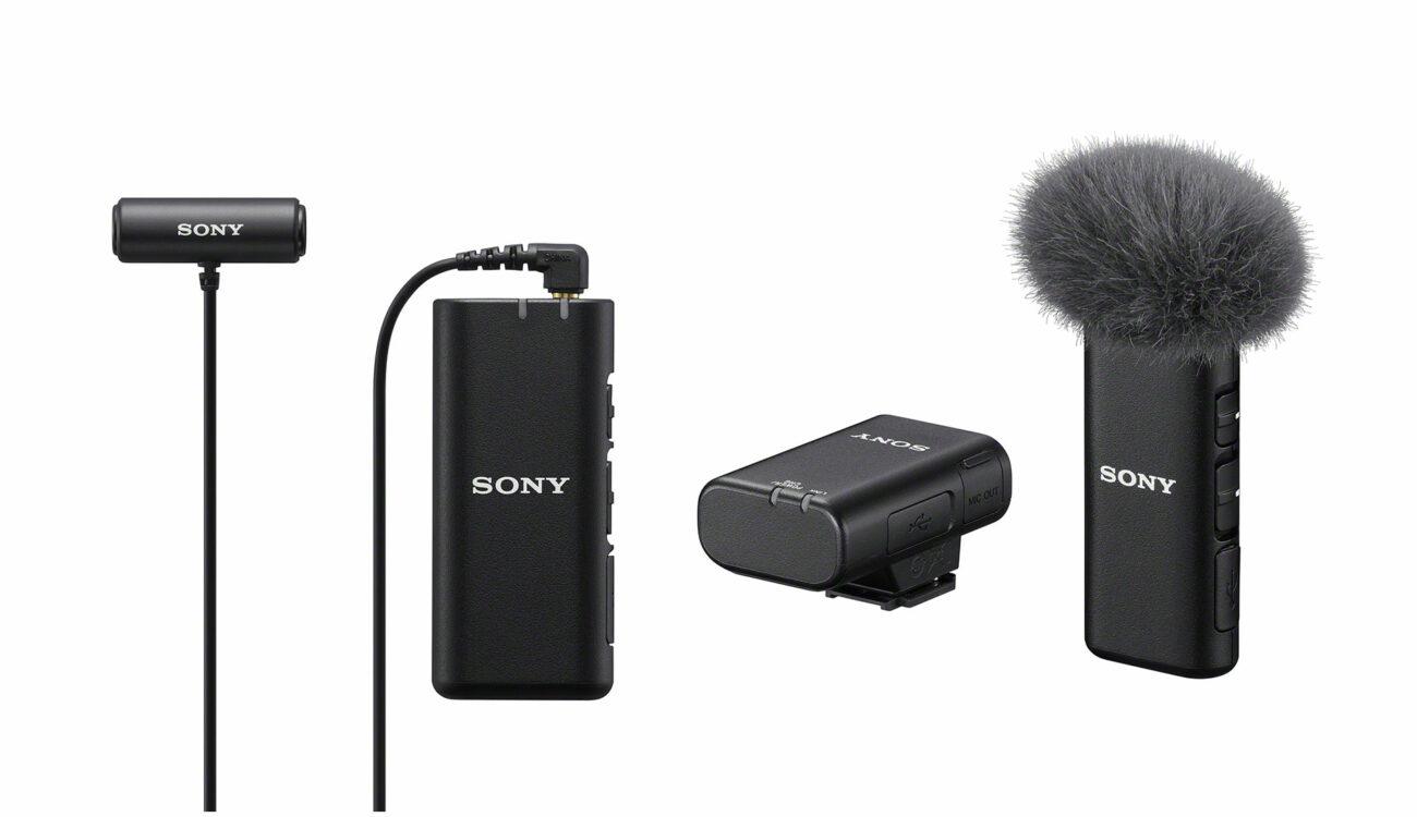 Anuncian el micrófono inalámbrico Sony ECM-W2BT y el micrófono de solapa estéreo compacto ECM-LV1
