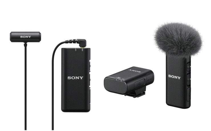 Sony ECM-W2BT Wireless Microphone and ECM-LV1 Compact Stereo Lavalier Microphone Announced
