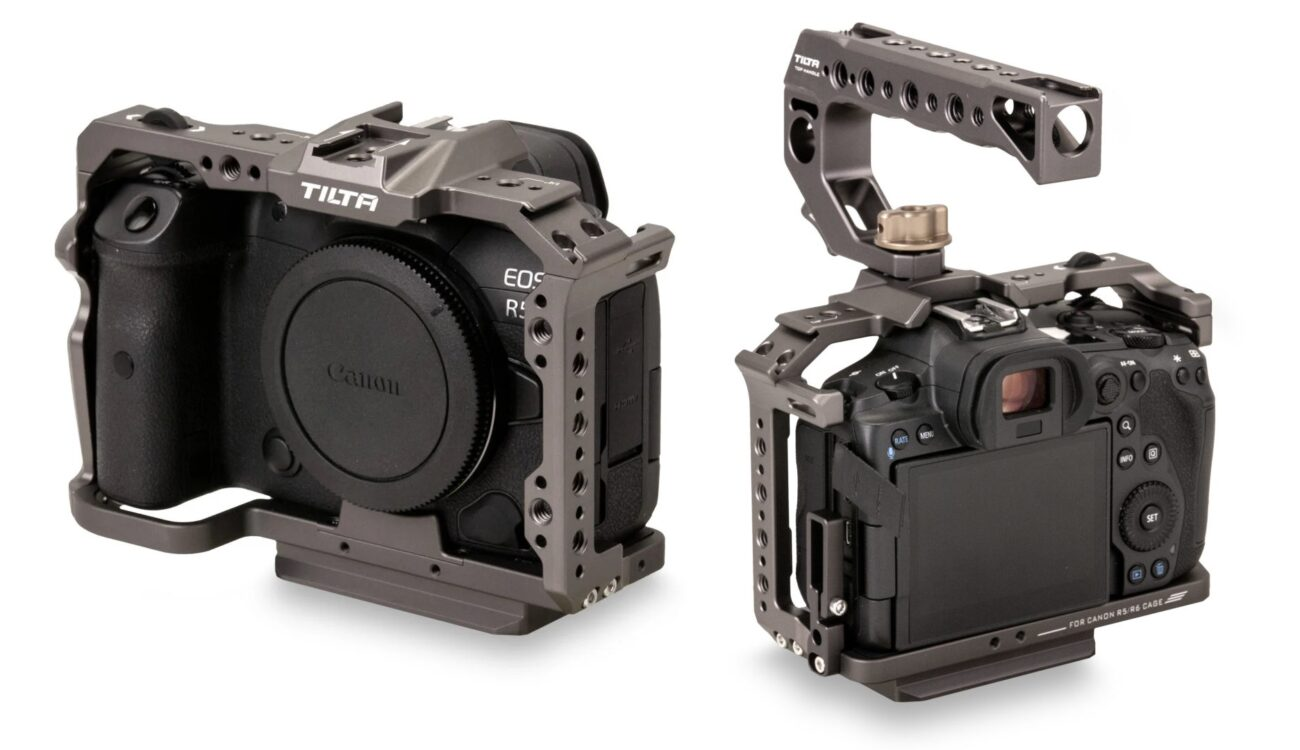Tilta Camera Cage for Canon EOS R5 and EOS R6 is Now Available