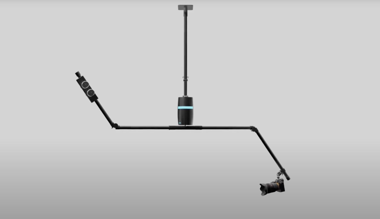 Marbl Orbit - 回転するカメラ用ロボットアーム