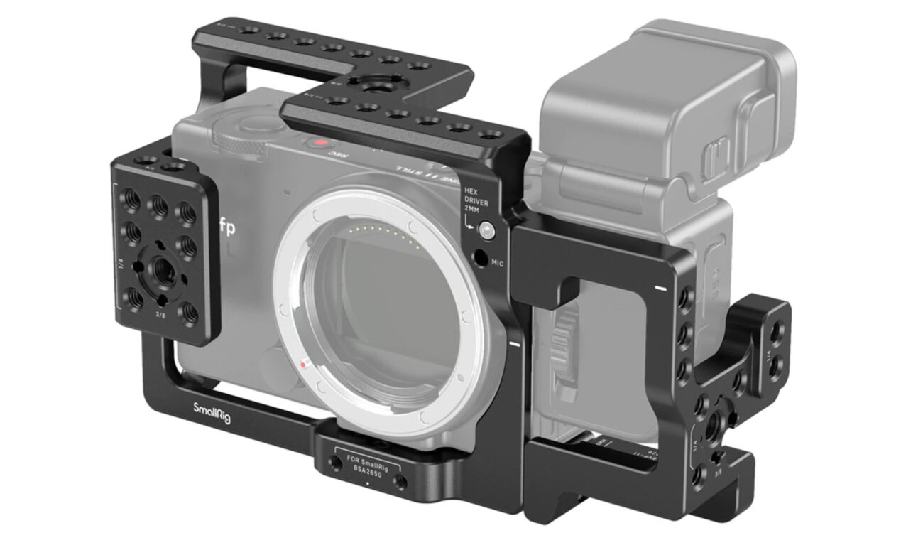 SmallRig And SIGMA Co-Develop Cage For SIGMA fp Series Cameras