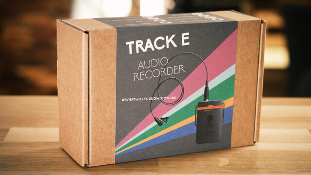 Tentacle Synch's TRACK E 32-Bit float audio recorder.